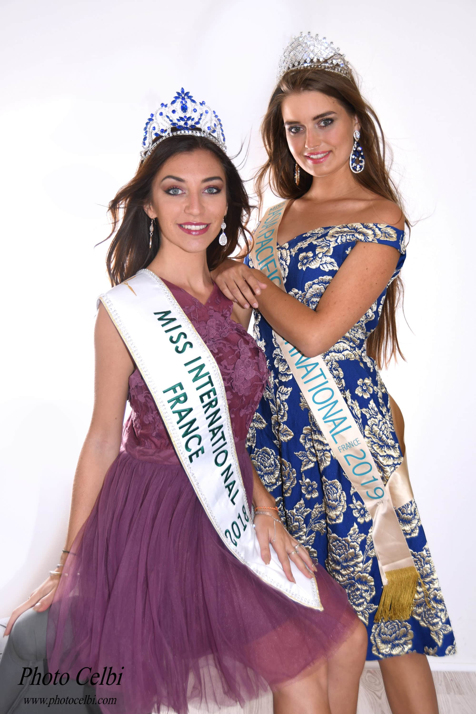 Miss International France et Miss Asia Pacific International France