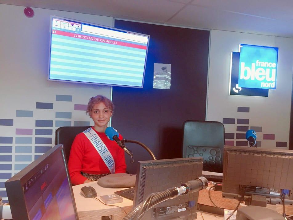 Selena Langstaff à France Bleu Nord