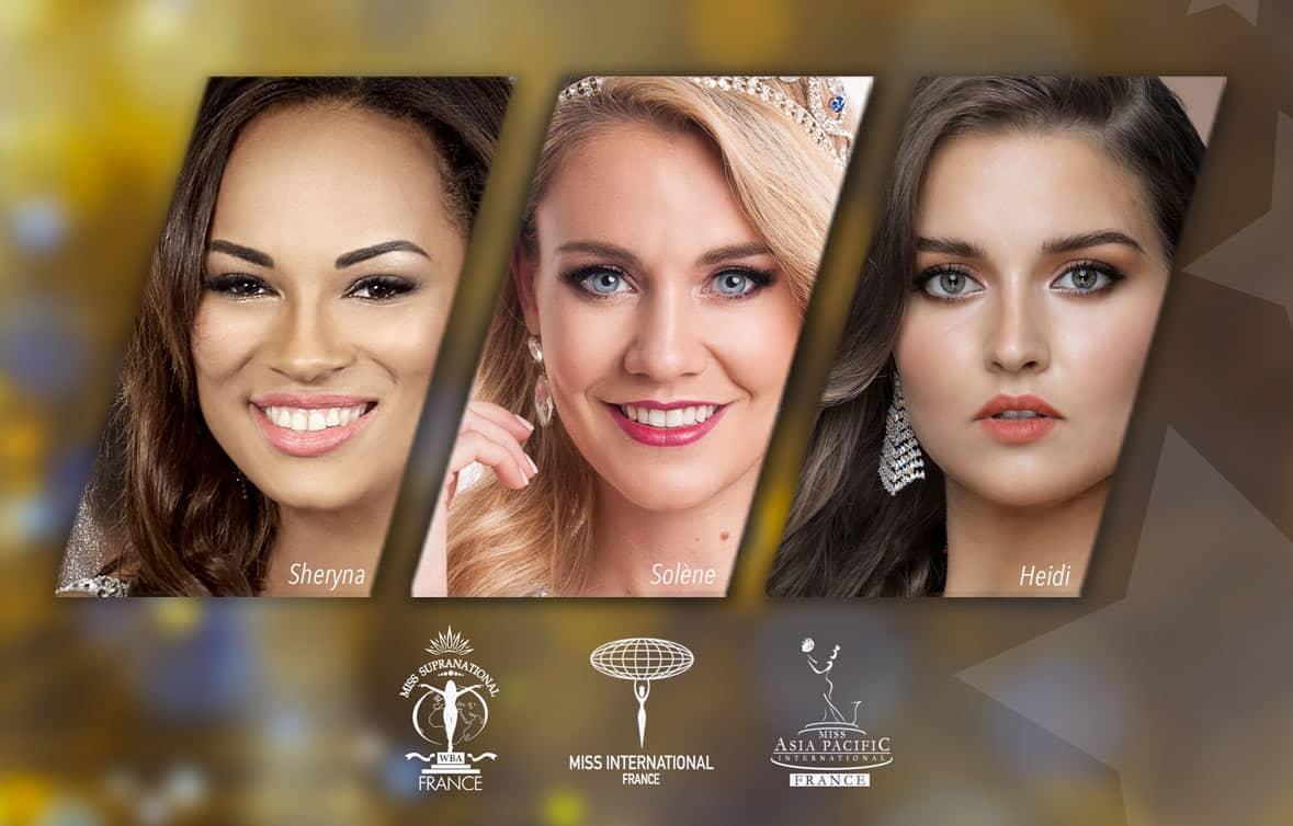 miss france pour miss international , miss supranational et miss asia pacific international