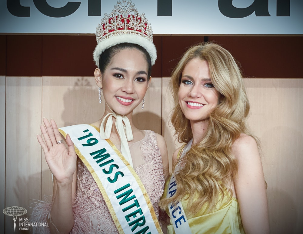 Miss International 2019 : Sireethorn Leearamwat