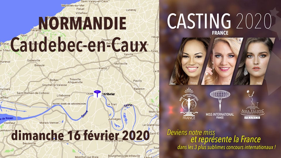 casting miss en normandie