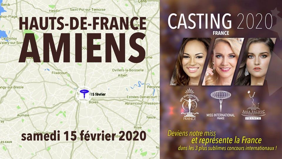 casting Hauts de France Amiens